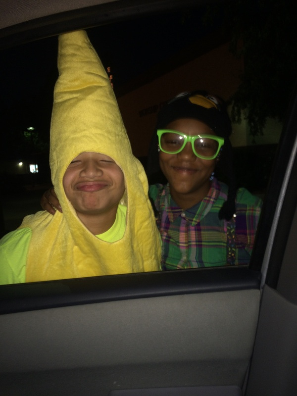 Banana man and nerd girl